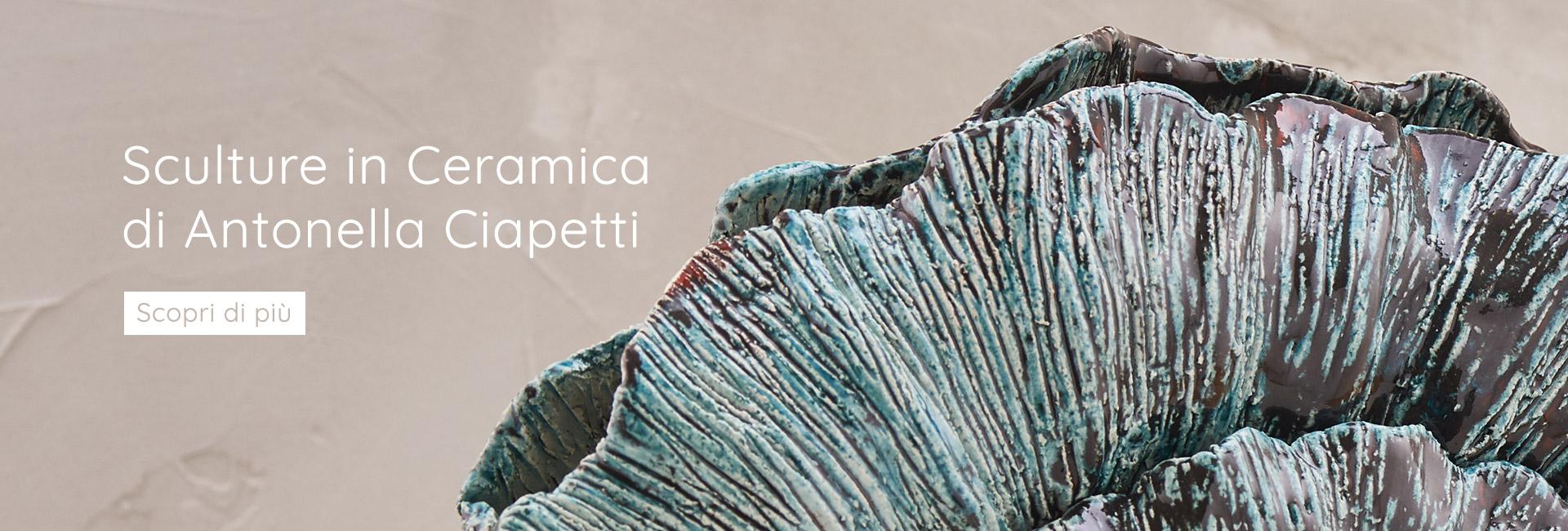 Sculture in Ceramica di Antonella Ciapetti