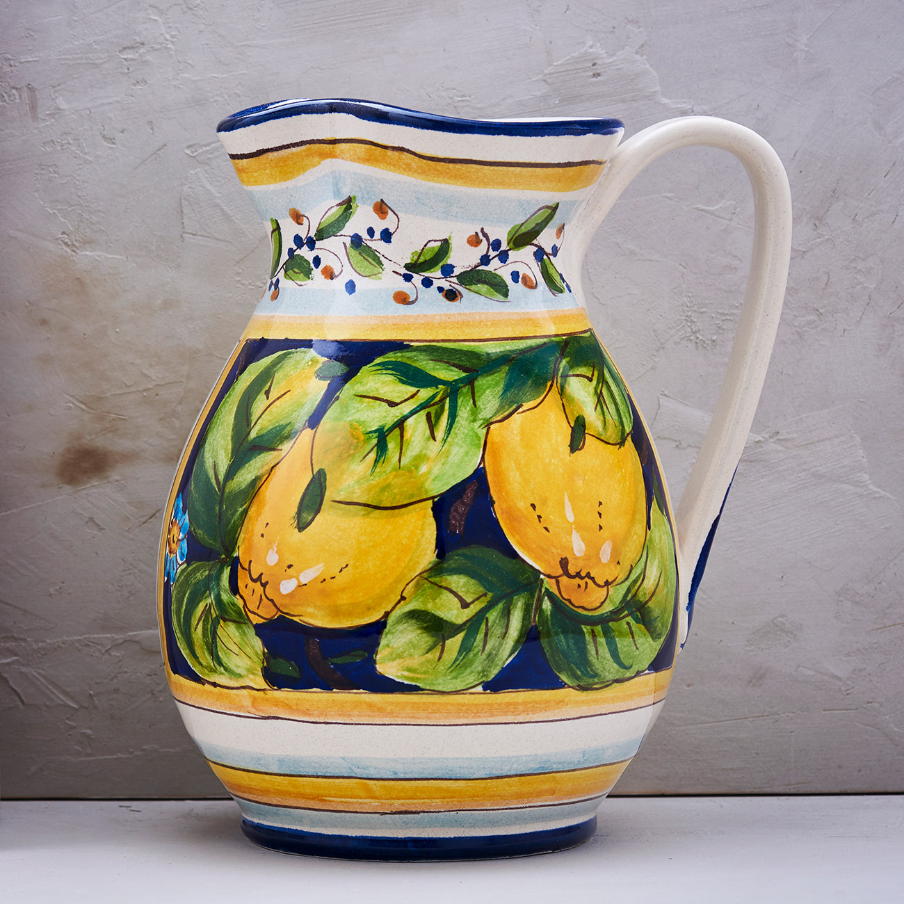 Lemon Jug Blue background - 2 L 1