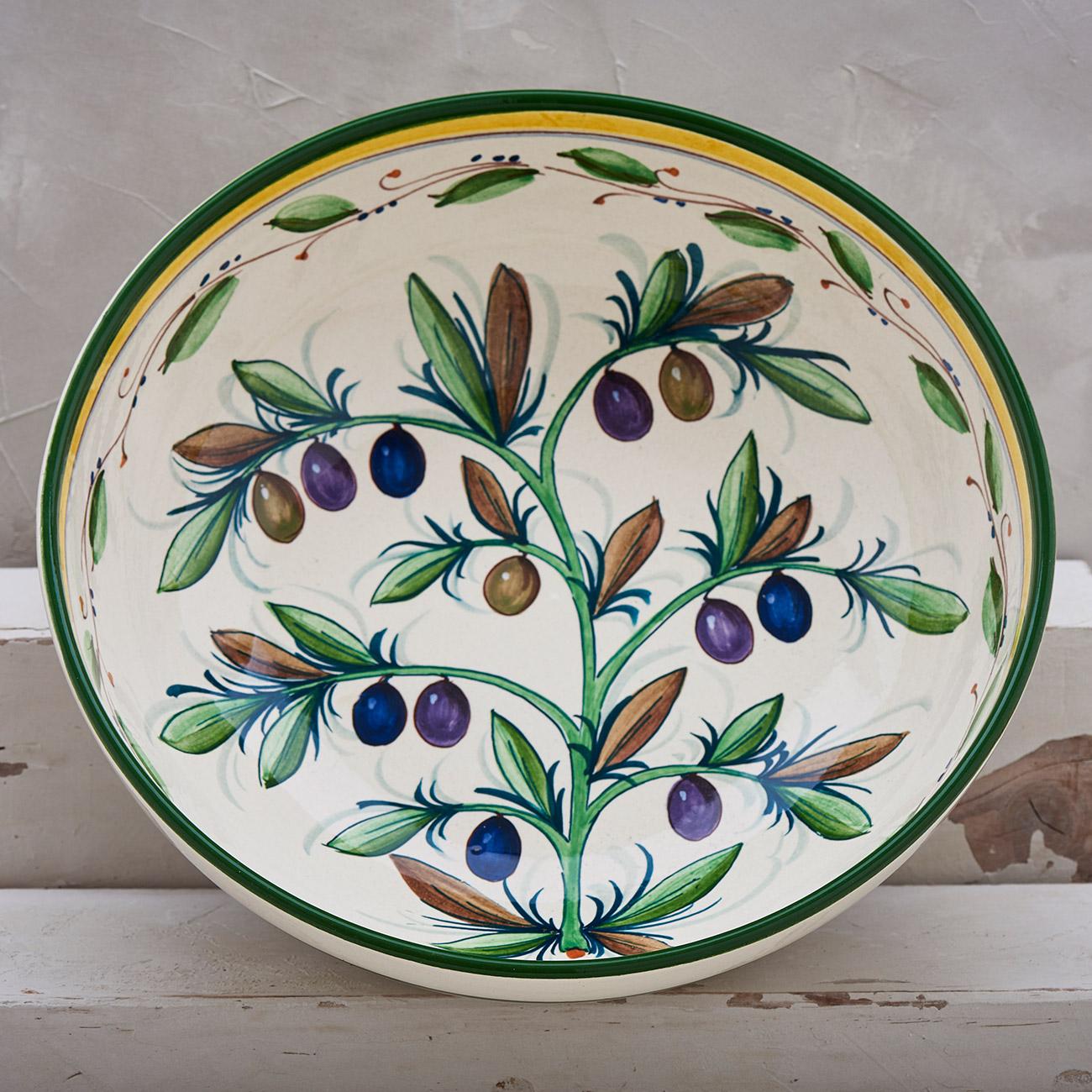 White Olive Tree Bowl - 30 cm 1