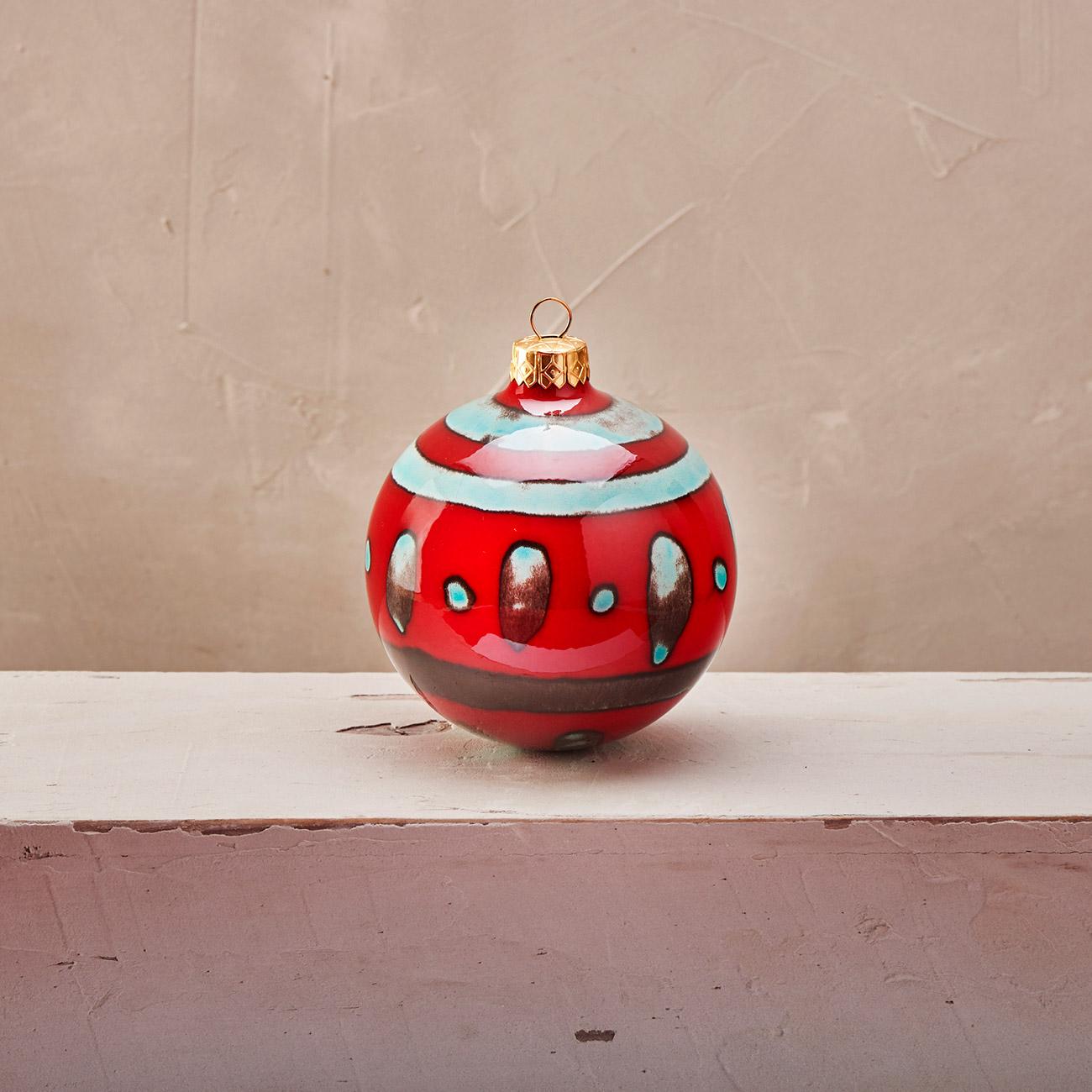 Red Christmas Ball 1