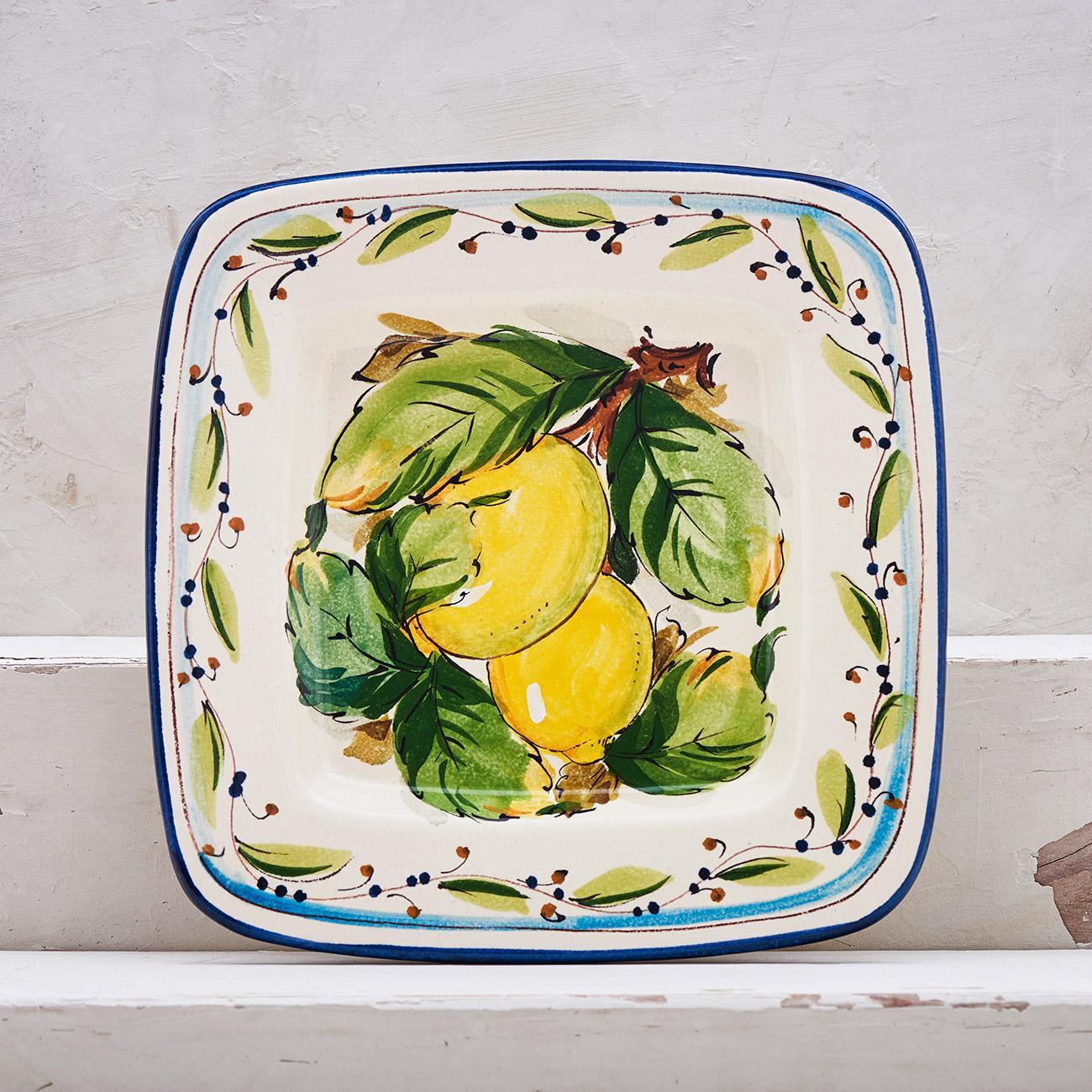 Lemon Tray - 22 x 22 cm 1