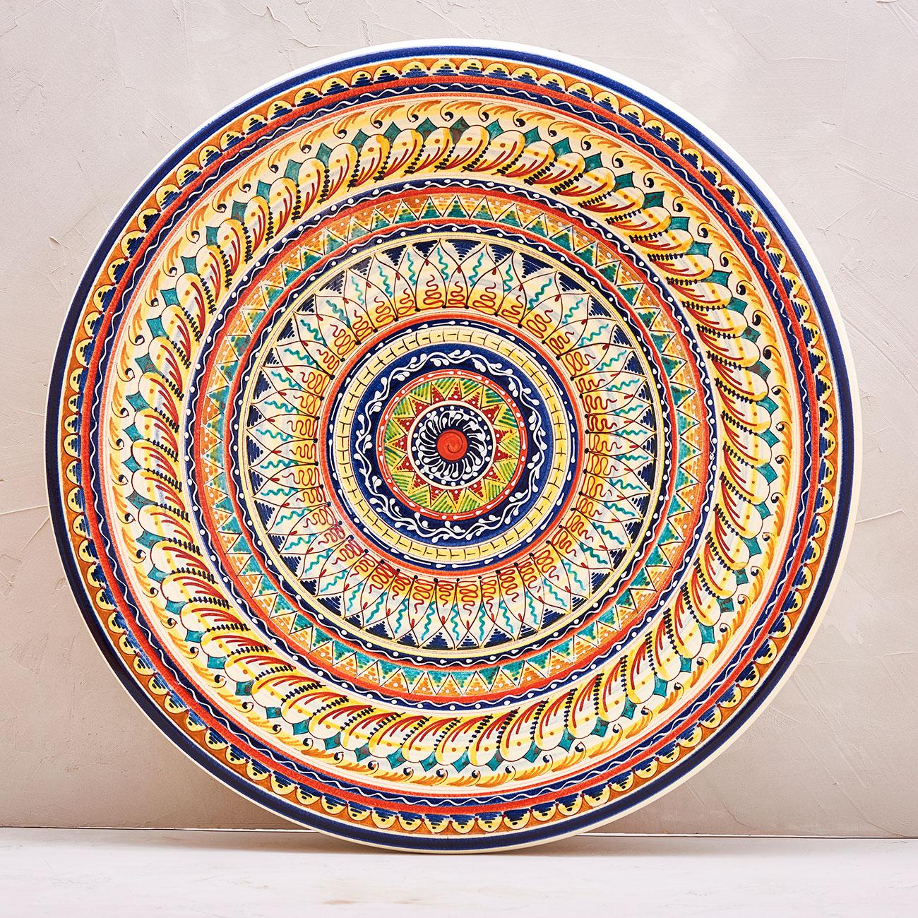 Geometric Plate - 52 cm