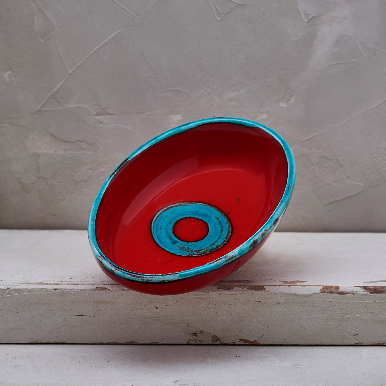 Red Circle Soap holder 1