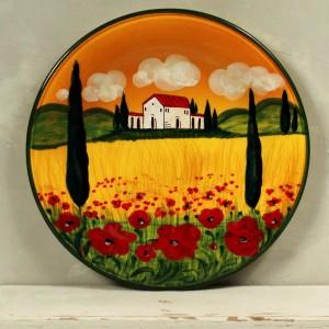 Piatto Paesaggio - 30 cm