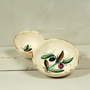 White Olive Tree Bowl for olives