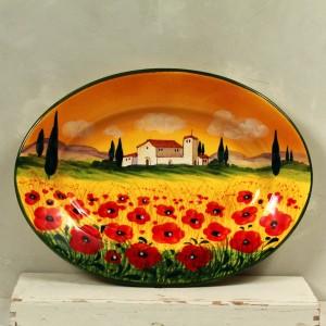 Vassoio Paesaggio - 36 x 26 cm