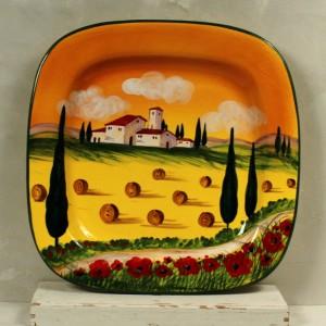 Vassoio Paesaggio - 40 x 40 cm