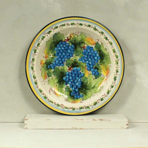 Blue Grapes Plate - 41 cm