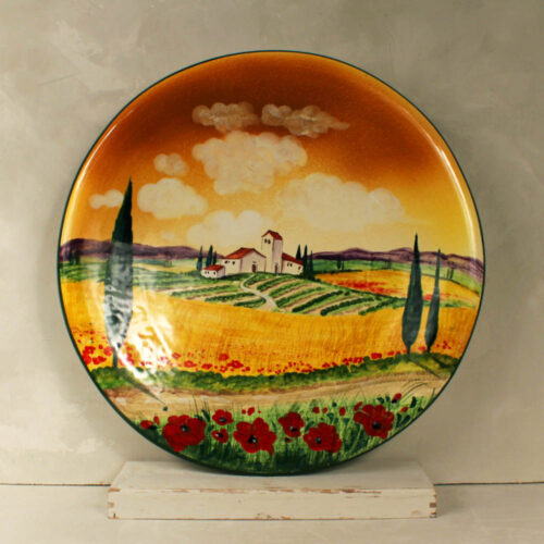 Landscape Plate - 52 cm