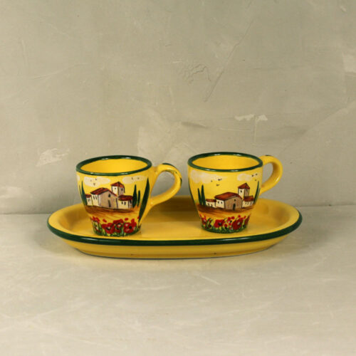 Set Landscape Coffee Cups