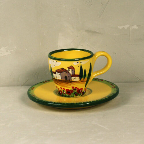 Landscape Coffee cup with saucer