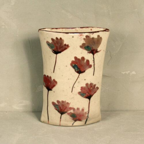 Vaso piccolo rosso