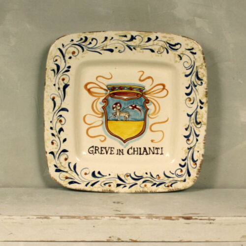 Emblem Greve in Chianti Tray - 22 x 22 cm