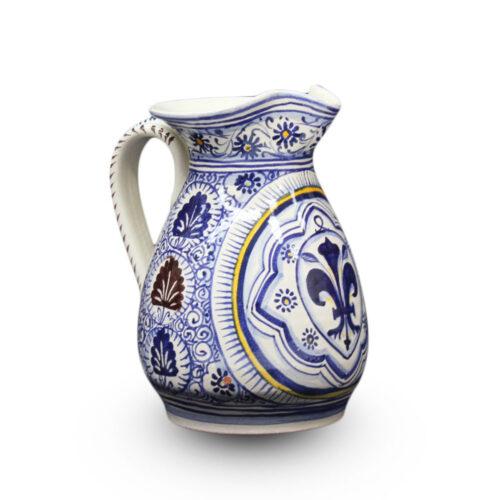 Brocca - 2 L con giglio blu